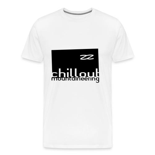 Chillout Mountaineering Hood / Hemsedal Edition - Premium T-skjorte for menn