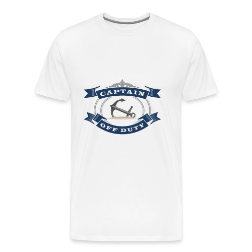 Captain Off Duty - Captain out of service - Men's Premium T-Shirt