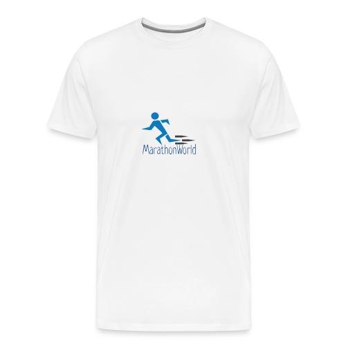 MarathonWorld - Maglietta Premium da uomo