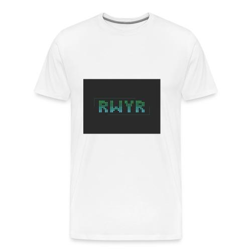 RWYR Borst Black - Mannen Premium T-shirt