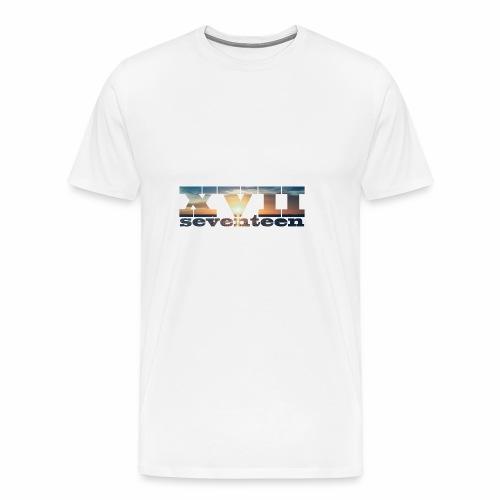 xvii 3 - Mannen Premium T-shirt
