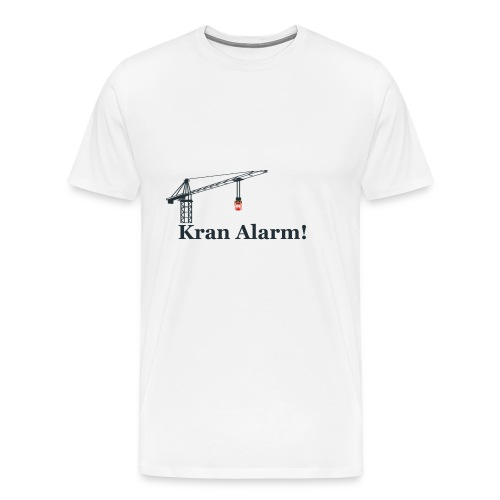 Kran Alarm - Herre premium T-shirt