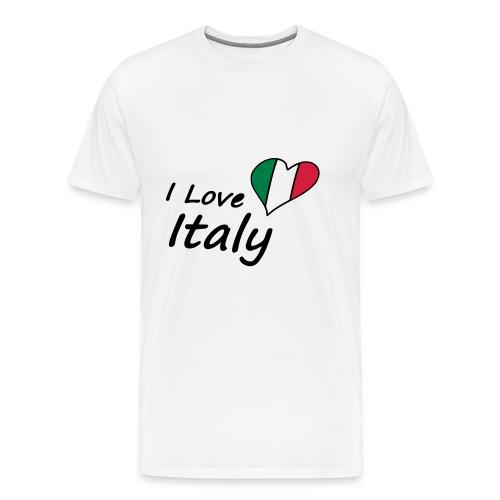 I Love Italy - Männer Premium T-Shirt