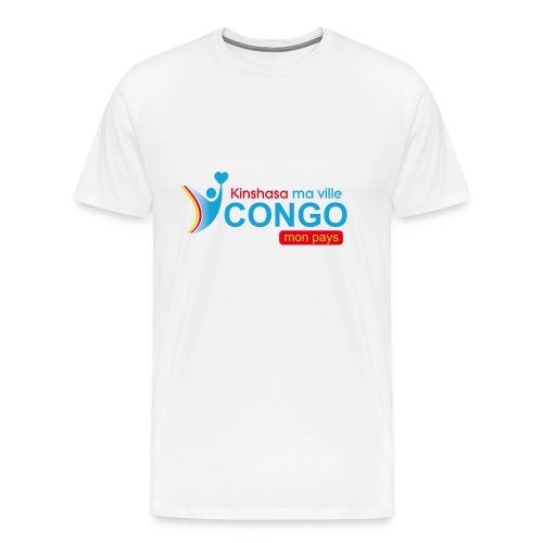 Kinshasa ma ville Congo mon pays - T-shirt Premium Homme