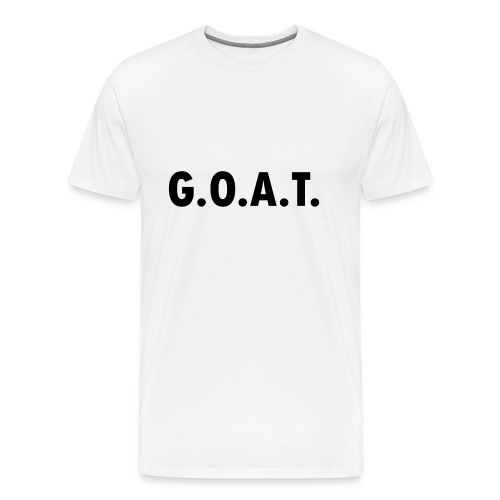 G.O.A.T. - Greatest Of All Time - Männer Premium T-Shirt