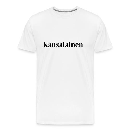 Kansalainen - Miesten premium t-paita