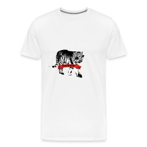 Collection de Vêtement Tigre NAWAW - T-shirt Premium Homme