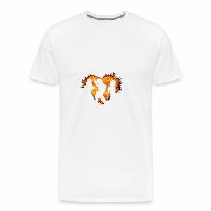 Burning Heart II - Männer Premium T-Shirt