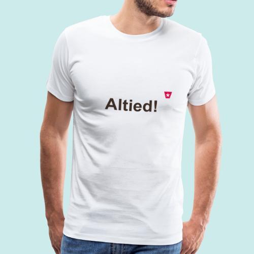 Altied ms hori def b - Mannen Premium T-shirt