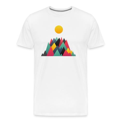 Mountains - T-shirt Premium Homme