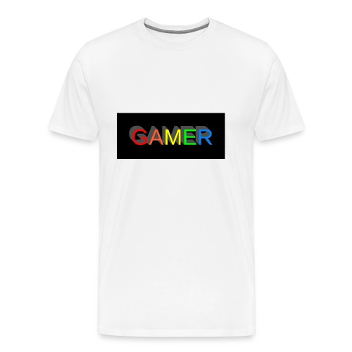 gamer shirt logo - Men's Premium T-Shirt