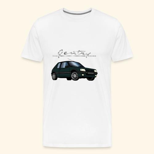 205 GTI 1,9 92 93 Gentry Vert Sorrento - T-shirt Premium Homme