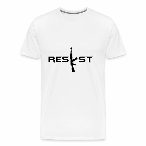 resist - T-shirt Premium Homme