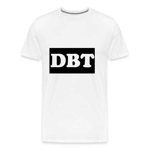 DBT Logo - Männer Premium T-Shirt