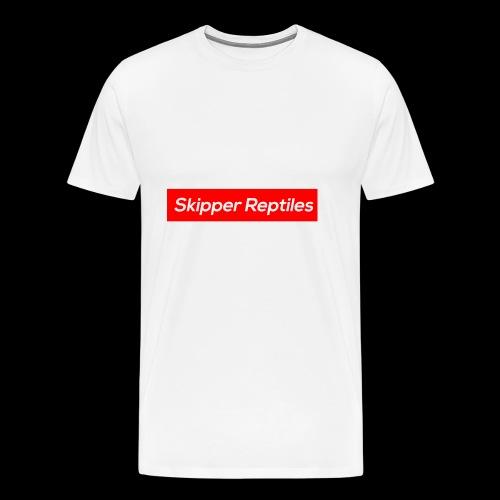 Skipper Reptiles Red Logo - Men's Premium T-Shirt