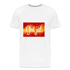 kjempe kul caps - Premium T-skjorte for menn