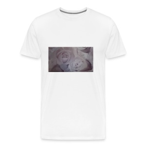 perfect pink rose's - Men's Premium T-Shirt