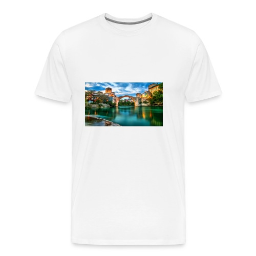 Mostar - Premium-T-shirt herr