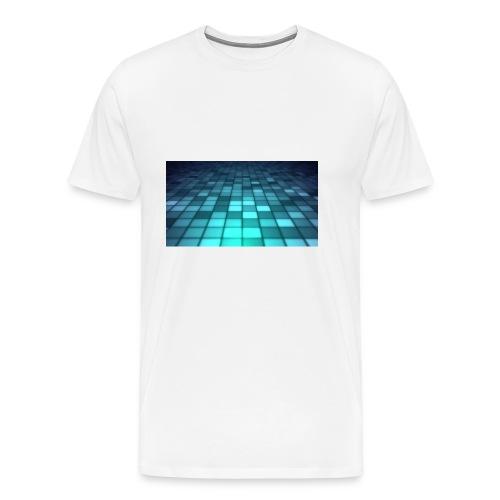 blue cubs - Herre premium T-shirt
