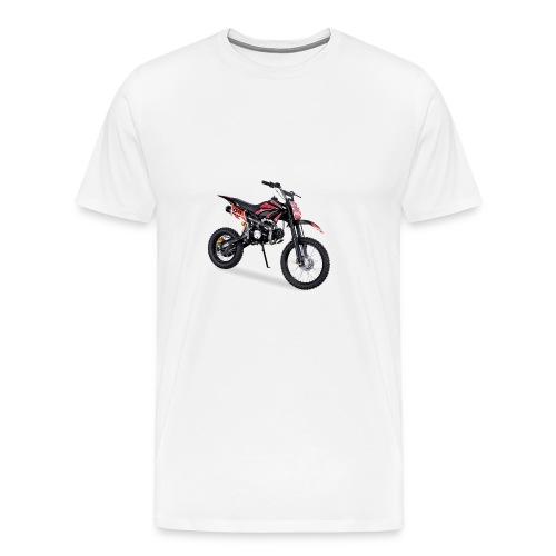 Crossbike JC125 cc Schwarz 48422D31323 - Männer Premium T-Shirt