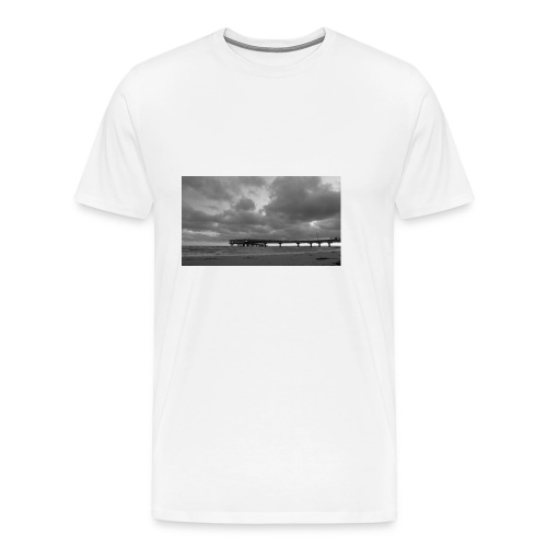 Heiligenhafen Seebrücke - Männer Premium T-Shirt