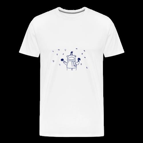 Confetti Frog - Men's Premium T-Shirt