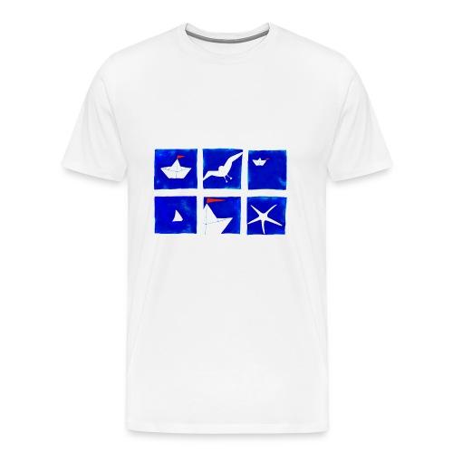 Sommer Meer Urlaub - Männer Premium T-Shirt