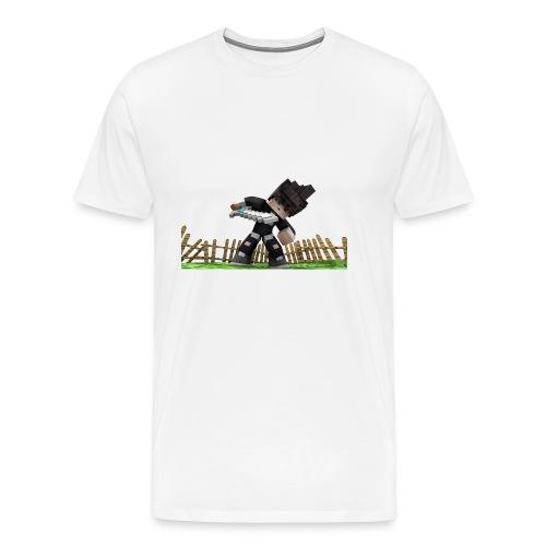 Ghoul Skin Render - Männer Premium T-Shirt