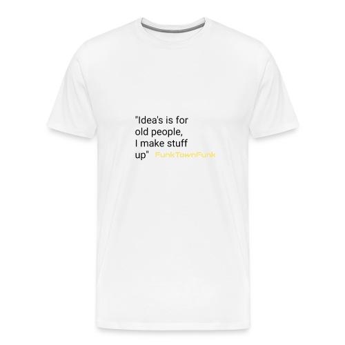 Thinking alive range - Men's Premium T-Shirt
