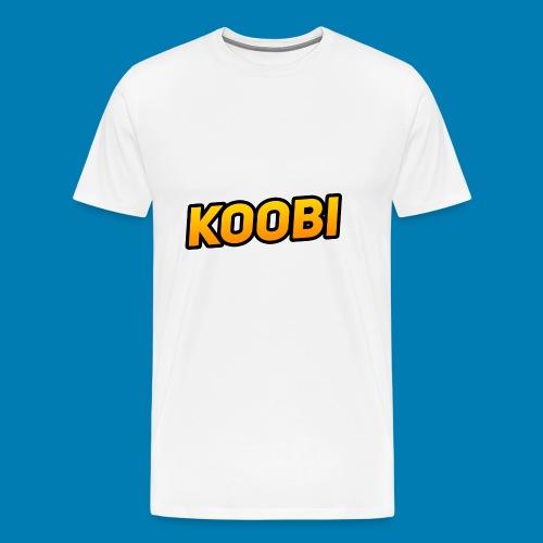 KOOBI Schriftzug - Männer Premium T-Shirt