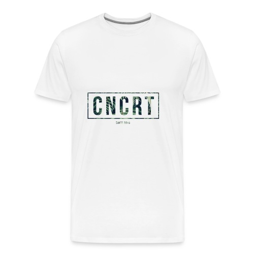 CNCRT white men sweater (Plant Print) - Mannen Premium T-shirt