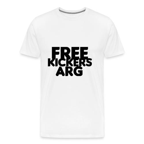 T SHIRT FREEKICKERSARG - Camiseta premium hombre