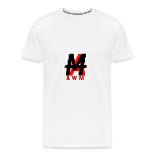 AWM Logo T-Shirt (WOMEN) - Men's Premium T-Shirt