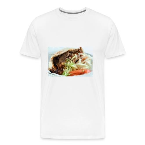 kebab trøje - Herre premium T-shirt