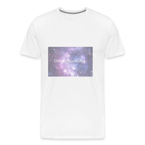 Somnium - Premium-T-shirt herr