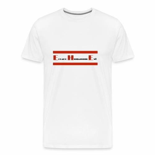 Roter Balken - Ehe - Männer Premium T-Shirt
