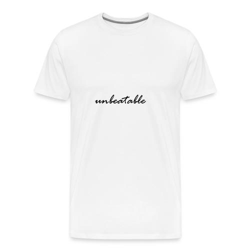 unbeatable - Männer Premium T-Shirt