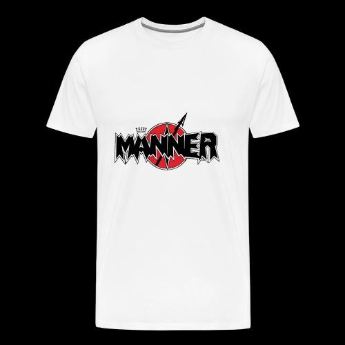 Maenner Logo mit schwarzer Krone - Männer Premium T-Shirt