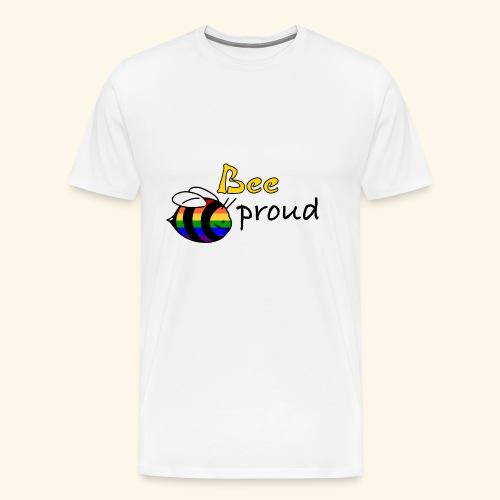 bee proud - Männer Premium T-Shirt