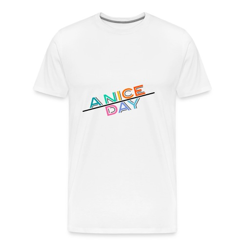 A nice day - Men's Premium T-Shirt