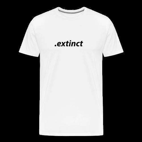 extinct3 0 - Premium-T-shirt herr