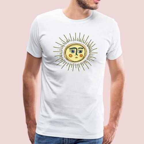 Sad Sun - Männer Premium T-Shirt