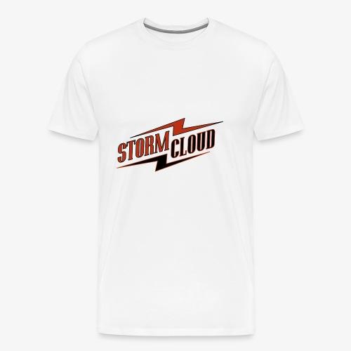 stormcloud logo print - Männer Premium T-Shirt