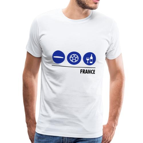 Circles - France - Men's Premium T-Shirt