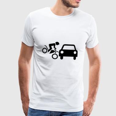 motorsyklist - Premium T-skjorte for menn