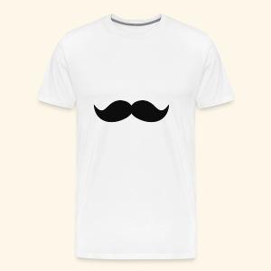 Mustache-Barbier - Männer Premium T-Shirt