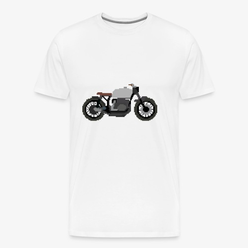 Motorcycle - Premium T-skjorte for menn