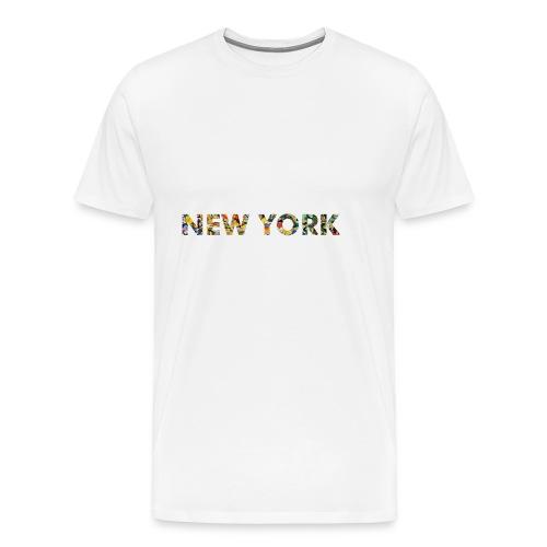 NEW YORK - Männer Premium T-Shirt