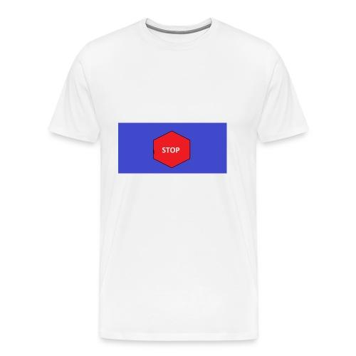 STOP!! - Männer Premium T-Shirt