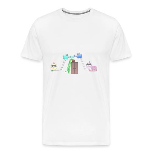 Freunde & Pflanzen - Männer Premium T-Shirt